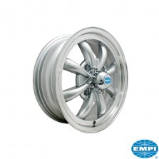 8 Spoke Silver 5.5 x 15 - ET35 - 4/130 vw typ 1