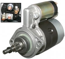 Startmotor 12 Volt 0,7kW vw T2, vw T25 t.o.m 12/82